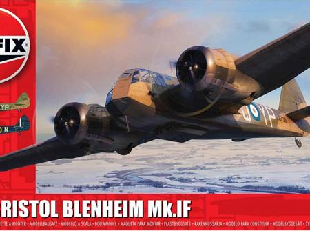 Airfix 1/48 Bristol Blenheim Mk.IF (A09186)