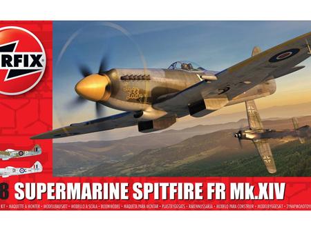 Airfix 1/48 Supermarine Spitfire FR Mk.XIV (A05135)