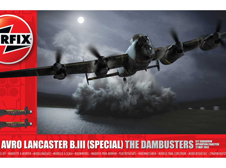 Airfix 1/72 Avro Lancaster B.III (Special) The Dambusters (A09007)
