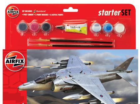 Airfix 1/72 BAe Harrier GR9A - Starter Set (A55300)