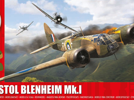 Airfix 1/72 Bristol Blenheim Mk.1 (A04016)