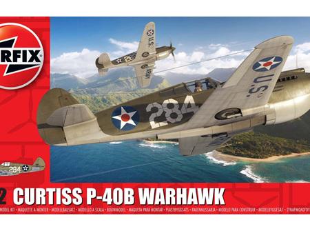 Airfix 1/72 Curtiss P-40B Warhawk (A01003B)