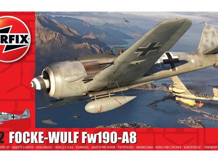 Airfix 1/72 Focke-Wulf Fw190-A8 (A01020A)