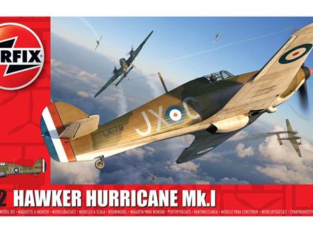 Airfix 1/72 Hawker Hurricane Mk.I (A01010A)