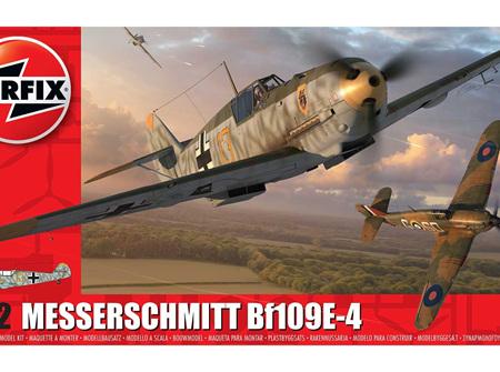 Airfix 1/72 Messerschmitt Bf109E-4 (A01008A)