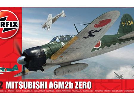 Airfix 1/72 Mitsubishi A6M2b Zero (A01005)