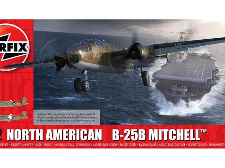 Airfix 1/72 North American B25B Mitchell (A06020)