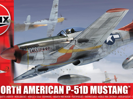 Airfix 1/72 North American P-51D Mustang (A01004)