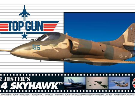 Airfix 1/72 Top Gun Jester's A-4 Skyhawk (A00501)