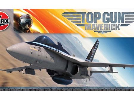 Airfix 1/72 Top Gun Maverick F/A-18 Hornet (A00504)