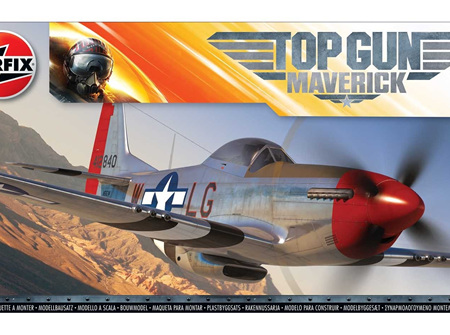 Airfix 1/72 Top Gun Maverick Maverick's P-51 Mustang (A00505)