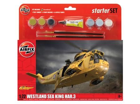 Airfix 1/72 Westland Sea King HAR.3 - Starter Set (A55307A)