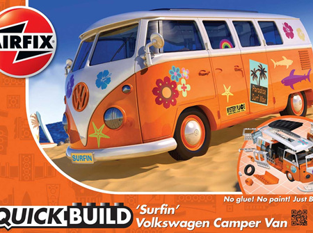 Airfix Quickbuild VW Camper Van 'Surfin' (J6032)