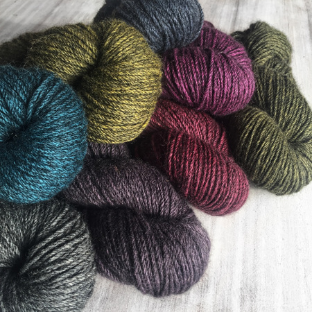 Akaroa 8ply polwarth/possum