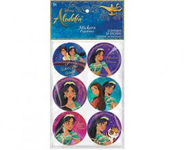 Aladdin stickers x 24