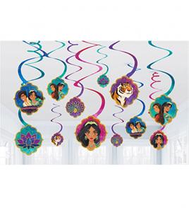 Aladdin swirls