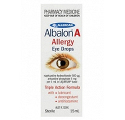 ALBALON A EYE DROPS