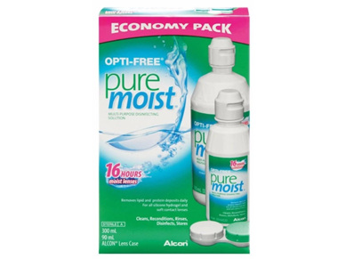 Alcon Opti-Free PureMoist 300ml + 90ml
