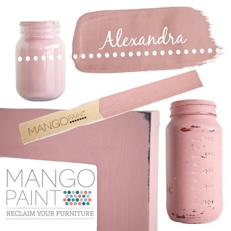 Alexandra Mango Paint