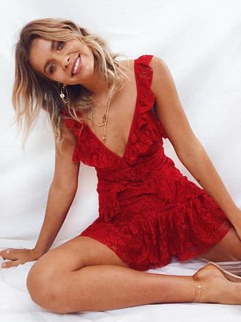 Ali Dress - Red
