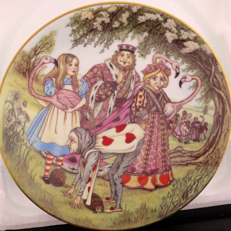 Alice and the Croquet Game