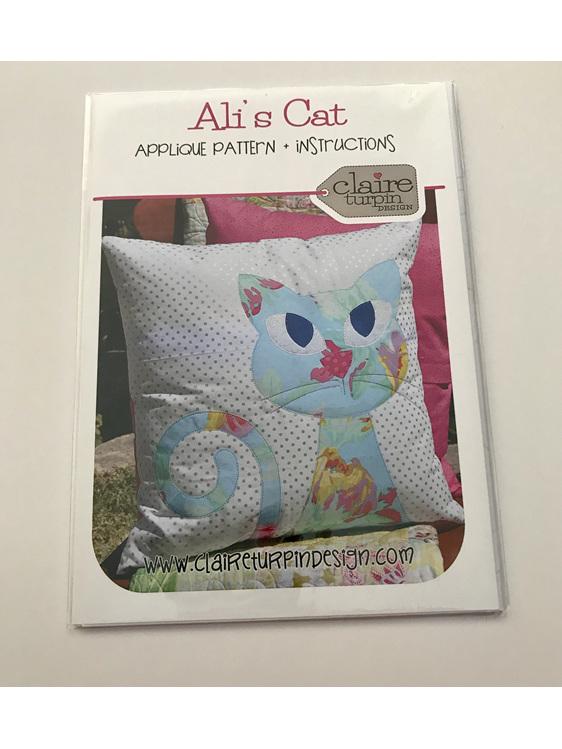 Ali's Cat Cushion Pattern
