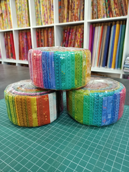 Alison Glass Stitched Jelly Roll