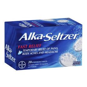 Alka Seltzer Regular 20S