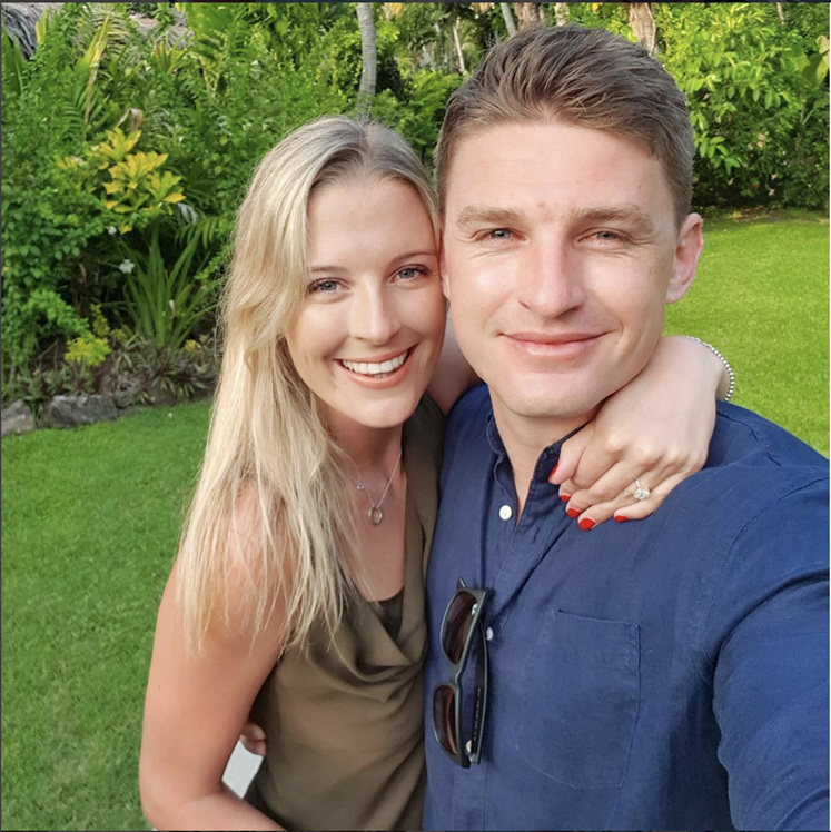 All Black, Beauden Barrett, Engaged, All black engaged