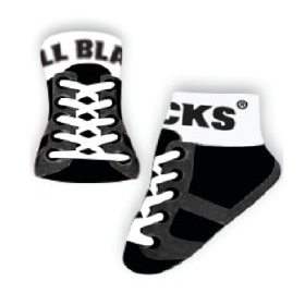 All Blacks Baby Socks