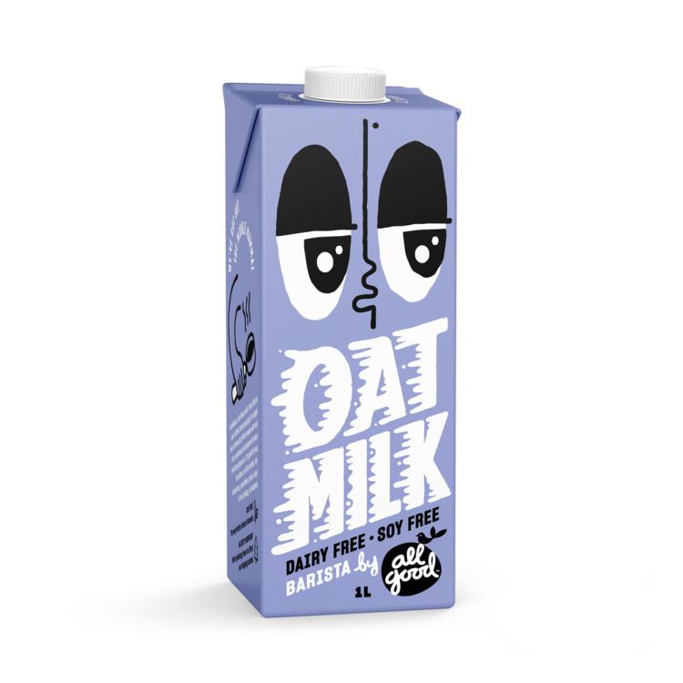 All Good Oatmilk 1L  Barista