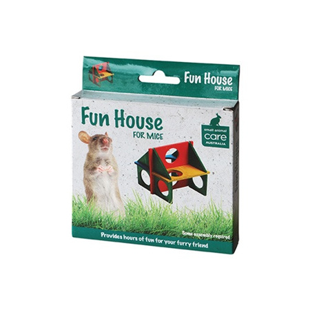 All Pet Mouse Toy Fun House