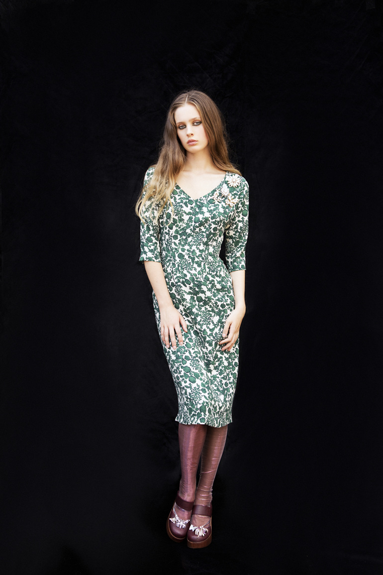 Allegra Dress Front