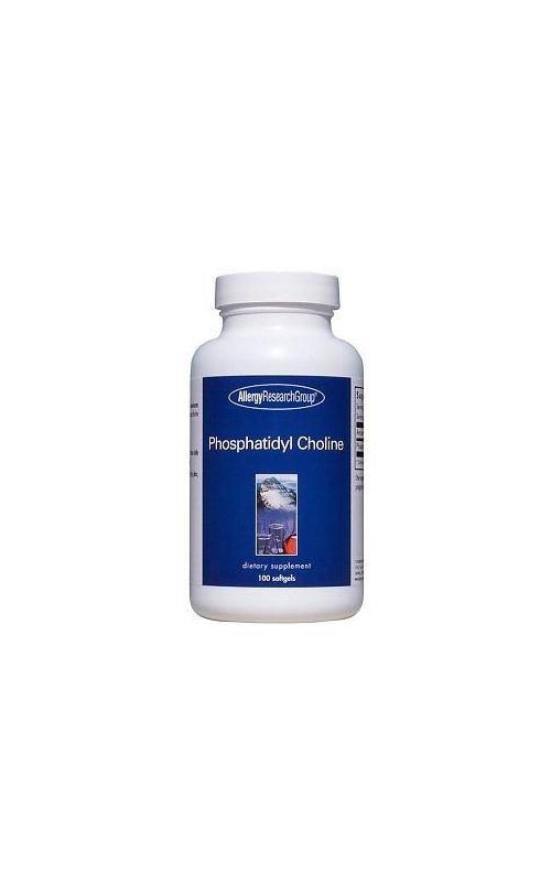 Allergy Research Group - Phosphatidyl Choline 100 Soft Gel Capsules