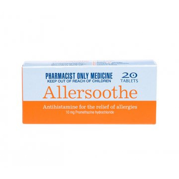 ALLERSOOTHE 10MG TAB 50