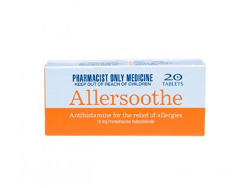 Allersoothe 10mg Tabs 20s