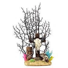 Allpet Tiki & Ram Skull Ornament