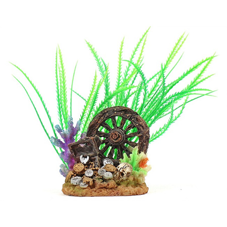 Allpet Wheel & Treasure Chest Ornament