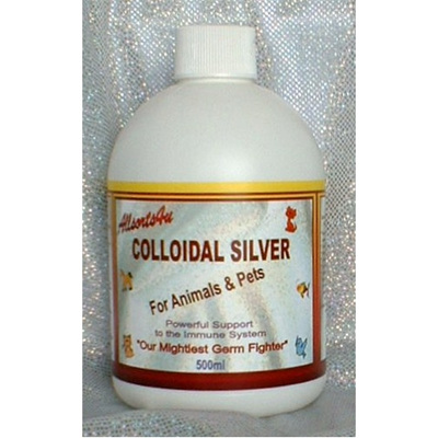 Allsorts4u Colloidal Silver For Animals & Pets 500ml