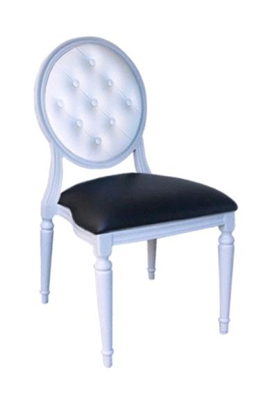 Allure Chair White Frame