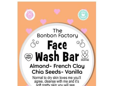 Almond and Vanilla Clay Facial Bar