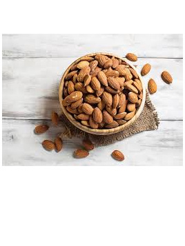 Almonds Raw Organic Approx 100g