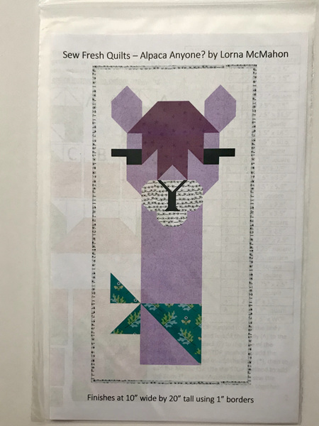 Alpaca Anyone Quilt Pattern