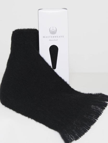 Alpaca Scarf - Black