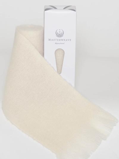 Alpaca Scarf - Cream