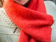 Alpaca Scarf - Hibiscus