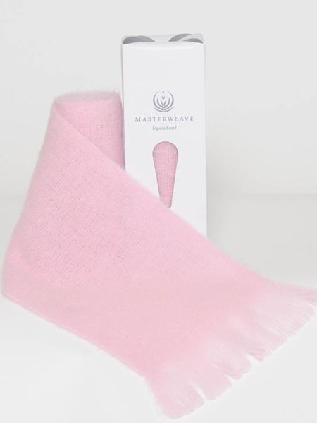 Alpaca Scarf - Pink