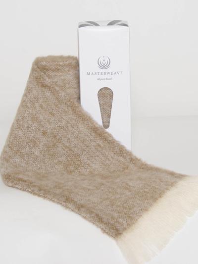 Alpaca Scarf - Pumice