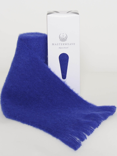 Alpaca Scarf - Royal Blue