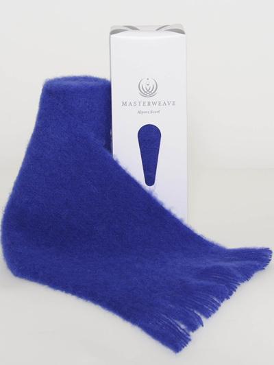 Alpaca Scarf - Royal Blue